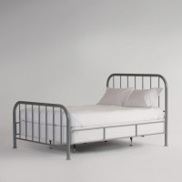 Simple Metal Bed Frame | Bed & Headboards