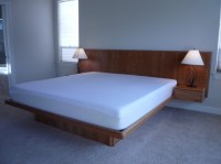 Floating Queen Size Bed Frame Designs