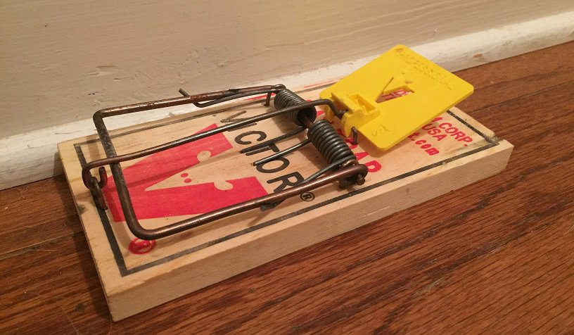 how to build a homemade rat trap