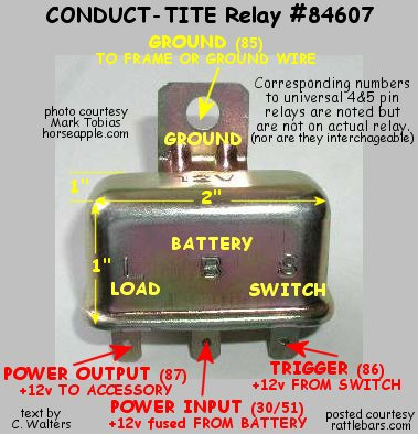 Yhree Wire Horn Relay Wiring Diagram Online Wiring Diagram
