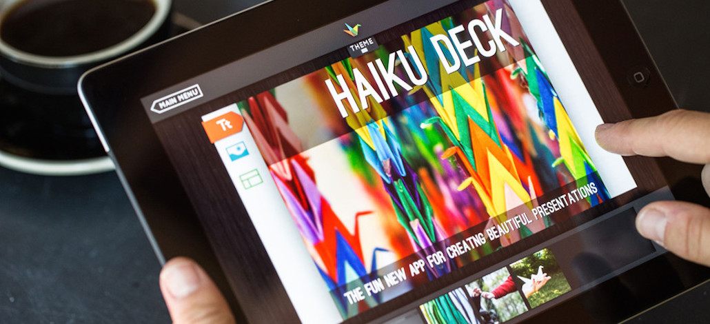 Presentaciones con Haiku Deck