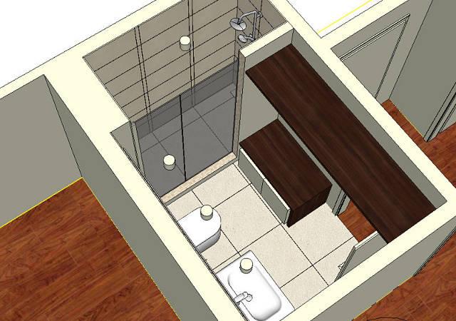 Schön Badezimmer Idee Mit Glasdusche RAUMAX   Badezimmer A Plan