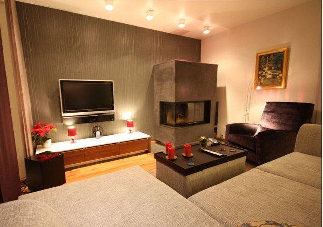 wohnzimmer modern mit kamin | designde.paasprovider.com