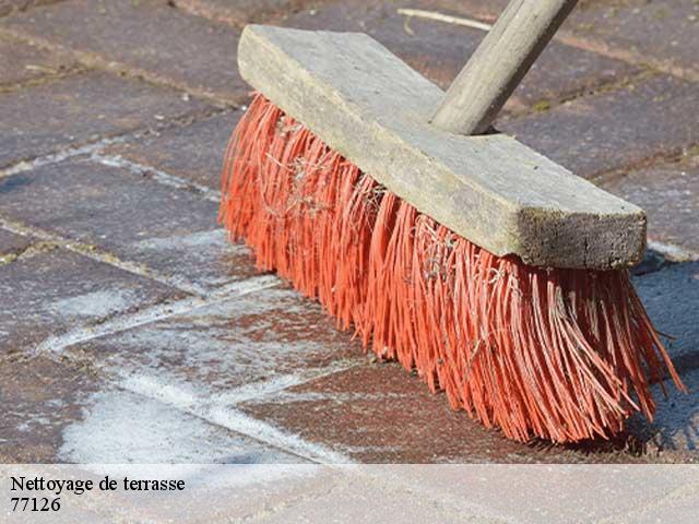 Nettoyage de terrasse à Chatenay Sur Seine tél0175851151 - Nettoyage Terrasse Carrelage Exterieur