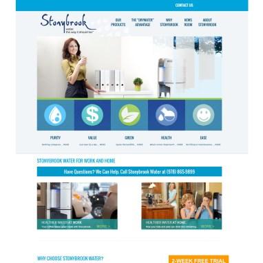 Stonybrook Water Website