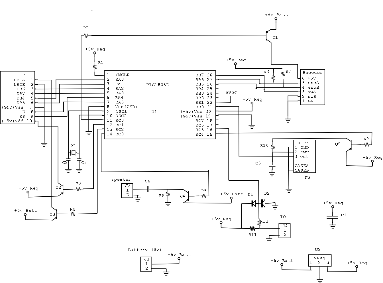 here is the circuit schematic for the board