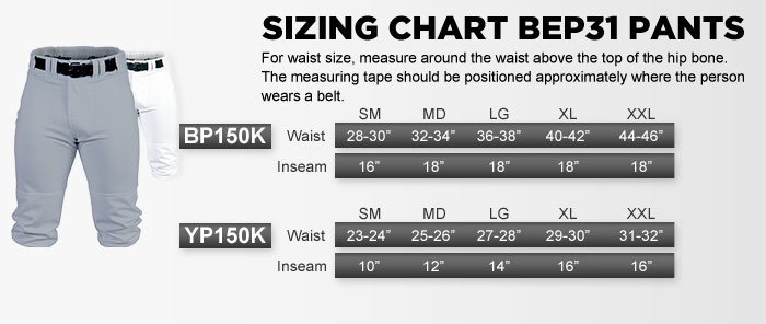 Sizing Charts for Sports Equipment  Apparel Rawlings