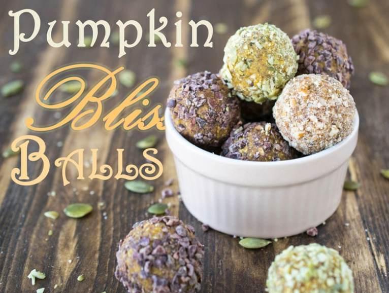 Pumpkin Bliss Balls