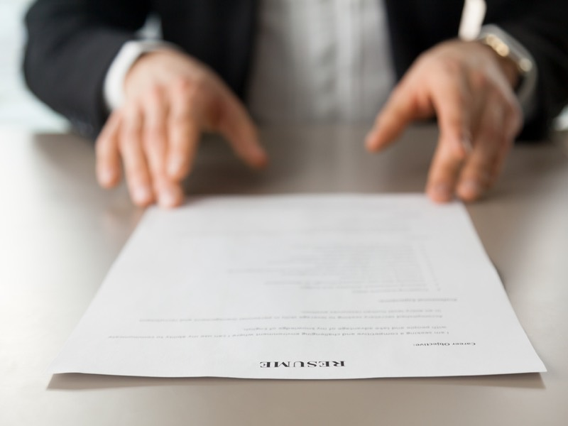 How To Perfect Your CV For A Sales Role ⋆ Raw Talent Academy