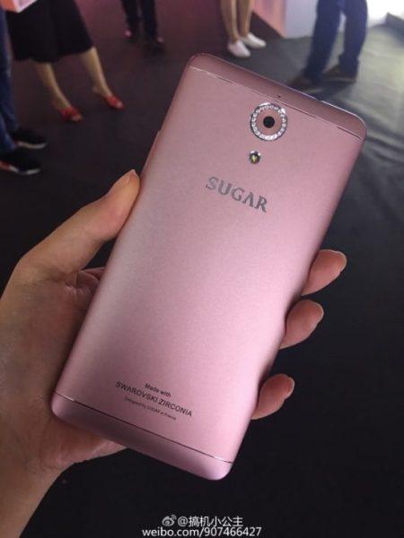 SUGAR F7 smartphone