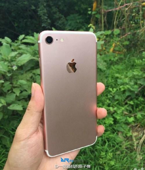 iPhone 7 Gold leak