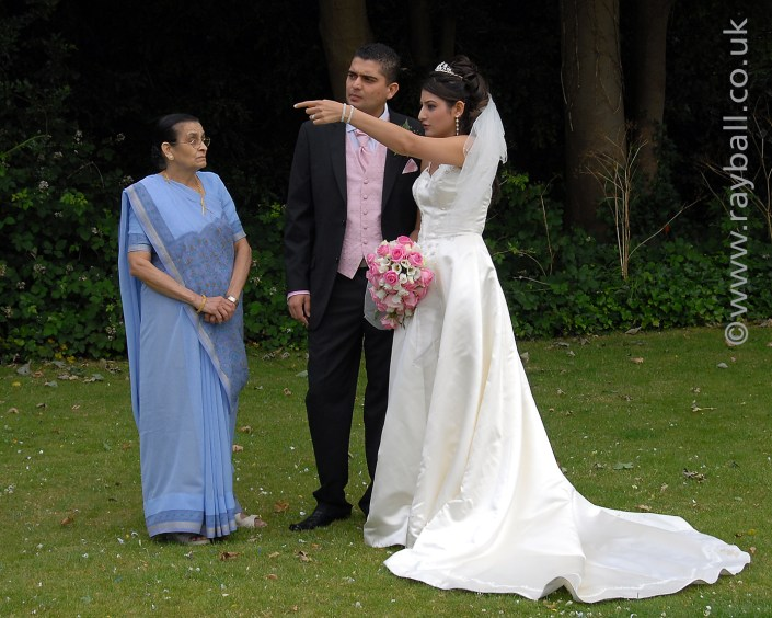 Bride instructing groom, Leatherhead Register. CAM_0514csk