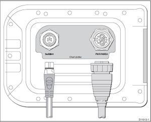 Raymarine A-serie aansluitingen alleen kaartplotter en SeaTalk next generation
