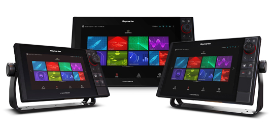 Multifunction Displays and Chartplotter Raymarine - A Brand by FLIR