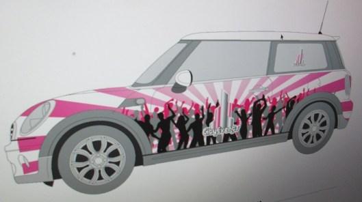 City Events mini cooper