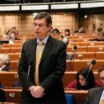 Danny Ayalon at the Council of Europe / Jaques Denier