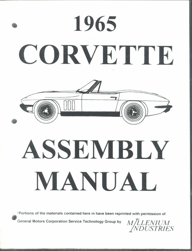 1966 Corvette Wiring Diagrams Book Wiring Schematic Diagram