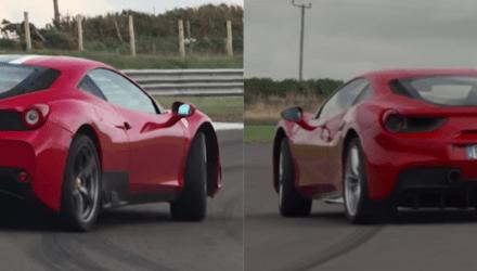 Ferrari 488 GTB contra FErrari 458 Speciale
