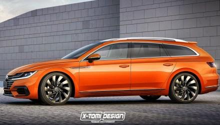 2017 Volkswagen Arteon - carrinha -X-Tomi design