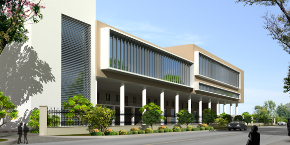 Educational building designs india school building design for School building design