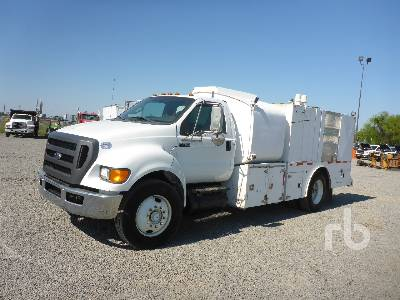 2012 FORD F750 XLT S/A Fuel  Lube Truck Lot #1594 Ritchie Bros