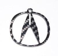 Carbon Fiber Specialties 3K Twill Weave Carbon Fiber Acura ...