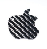 Carbon Fiber Specialties 3K Twill Weave Carbon Fiber Apple ...