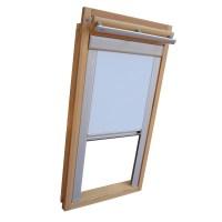 Sichtschutzrollo mit Schienen f. Roto Fenster WDF R4 R7 ...