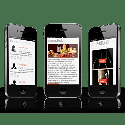 développons des sites en Responsive Design
