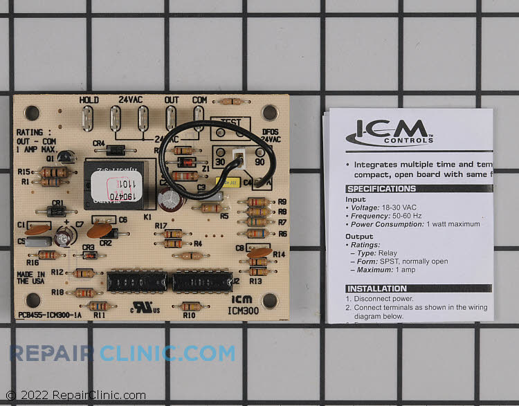 Defrost Control Board 1160717 RepairClinic