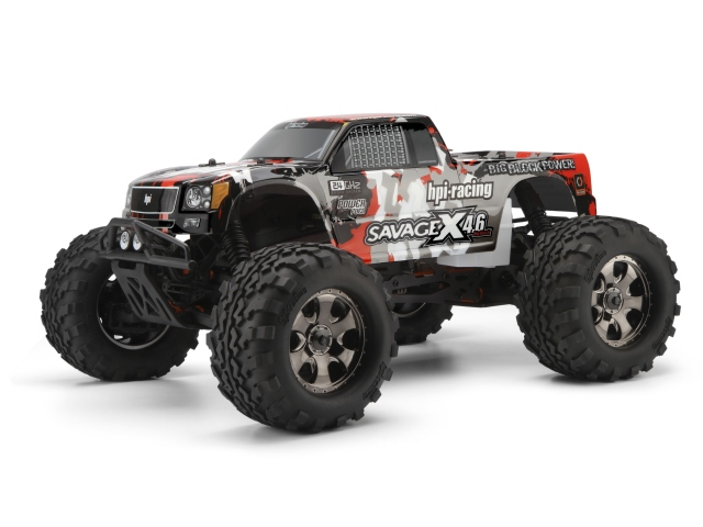 HPI Savage X 46 RTR Now With 24GHz Radio System And $65 Worth Of