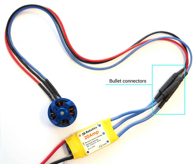 Quadcopter wiring diagram guide - Rcdronegood