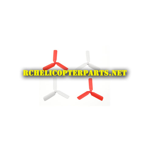 PAT10-01 Red and White Main Propellers 4PCS Parts for Propel Atom