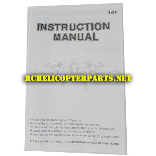 K90-21 Instruction Manual Parts for Kingco K90 Hunter Drone Quadcopter - instruction manual