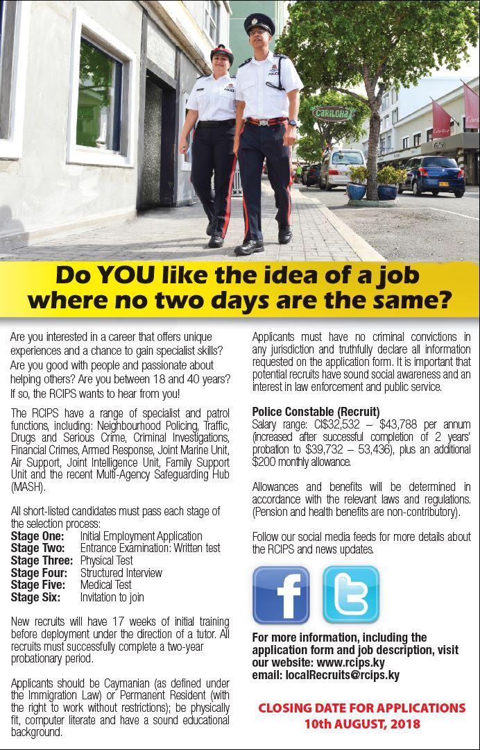 Local Officer Recruitment