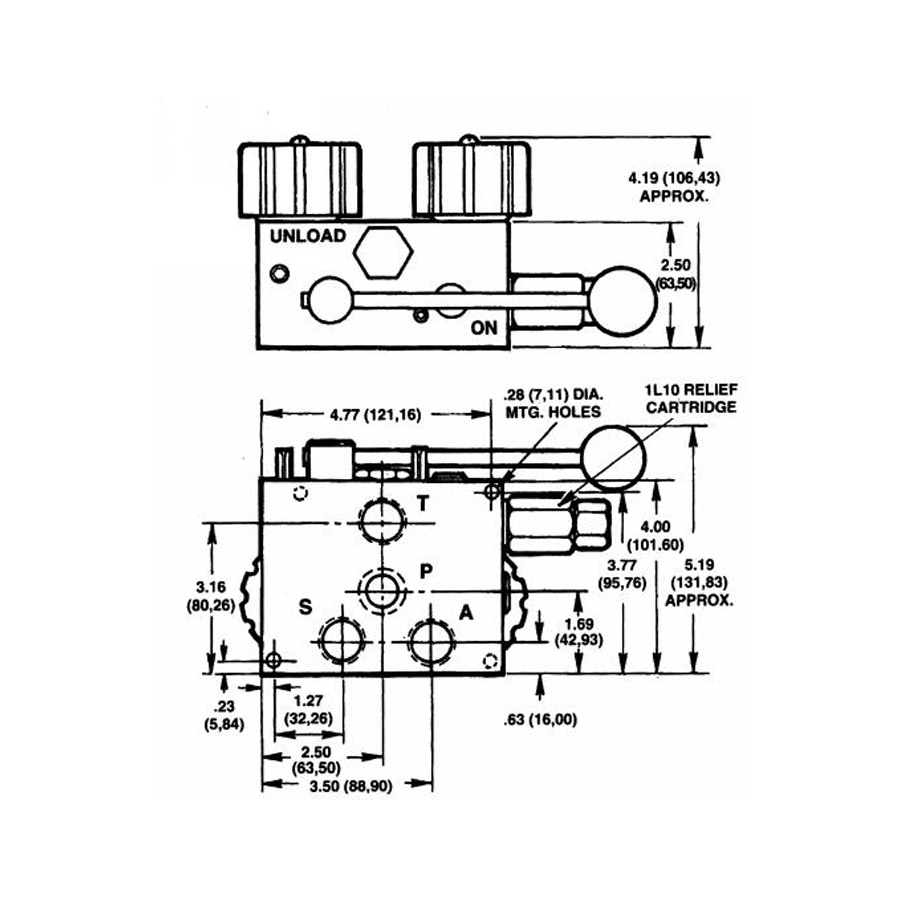Buyers Hvc715 Hydraulic Spreader Valve And Console 264 82 Auto Wiring Diagram