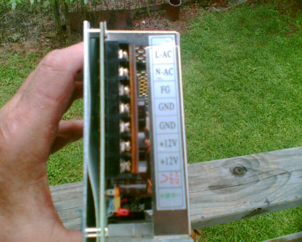 Does anyone know how to wire a 240 V AC to 12V DC power supply? - R