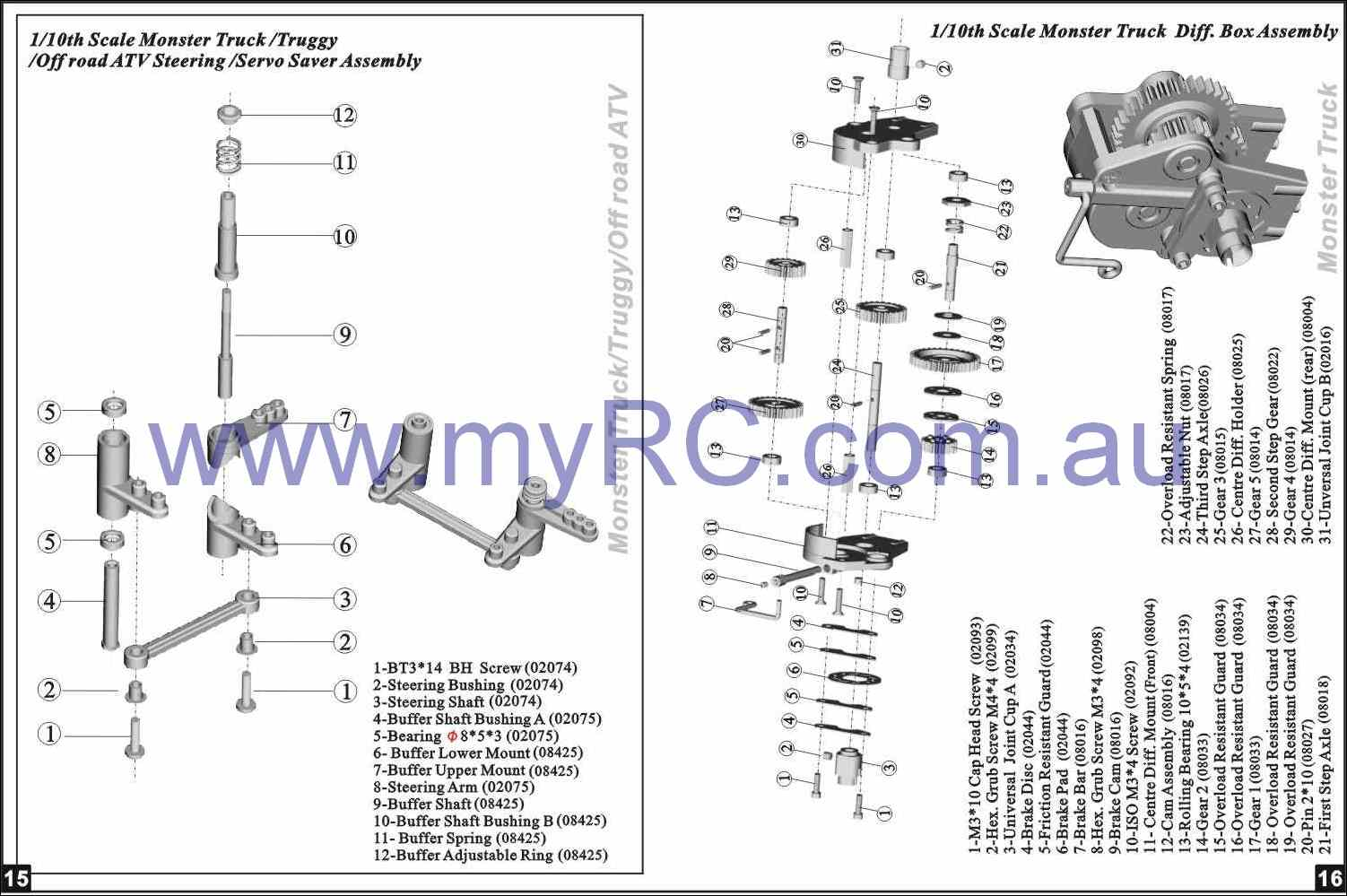electric rc car wiring diagram