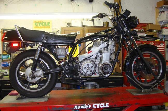 Randy\u0027s Cycle Service  Restoration 1980 Kawasaki KZ1300