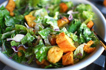 Panera Nutrition Salads Include Dressing