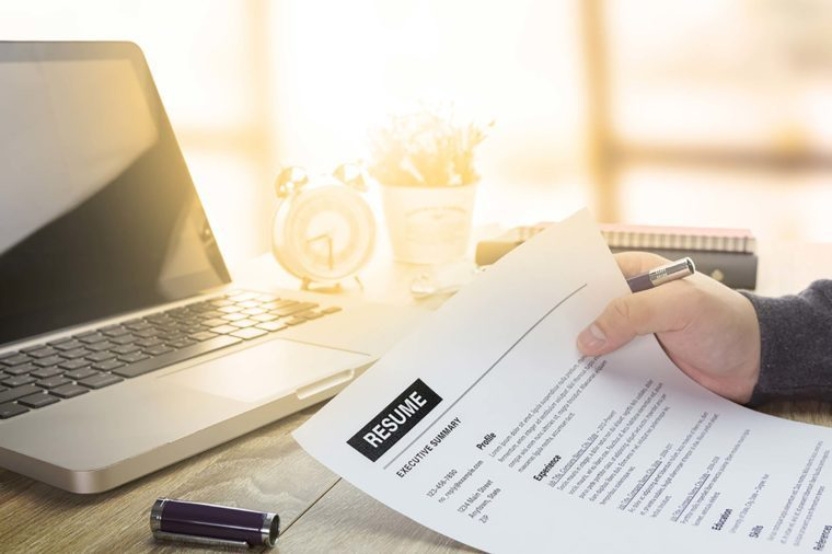 The Most Important Section of Your Resume Might Surprise You