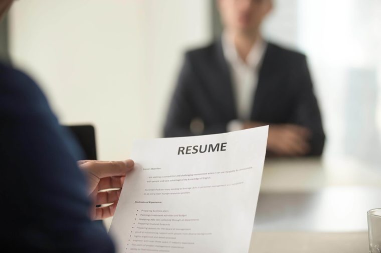 Résumé Writing Tips From HR and Recruiters Reader\u0027s Digest - your resume