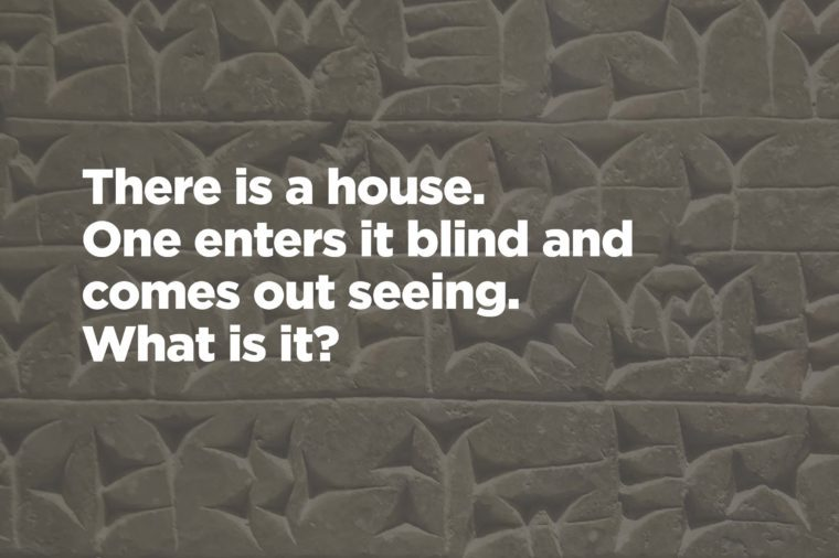 Can You Solve These Famous Literary Riddles? Reader\u0027s Digest
