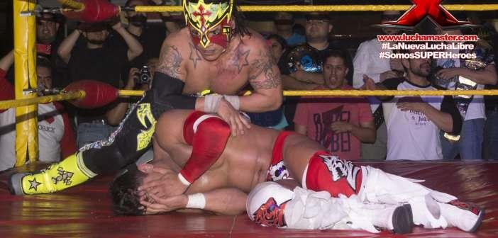 Juventud Guerrera tuvo más colmillo que el Dragón… ¡Adonis y Crazy se robaron el show!