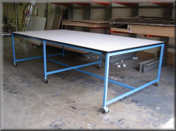 Heavy Duty Tables Large Work Tables Rdm Industrial Products