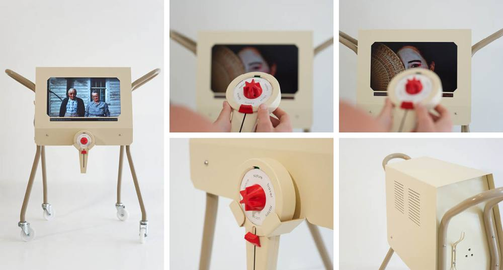 Collage of different parts of the photostroller, as part of the New Dynamics of Ageing project.
