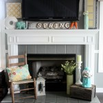 Spring Fireplace