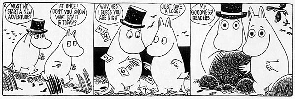 Cute Baby And Baba Wallpaper Moomin The Complete Tove Jansson Comic Strip Vol 5