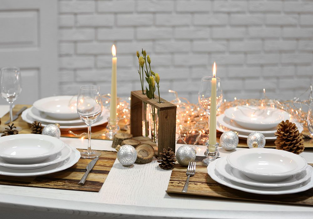 How To Set A Christmas Table My Web Value