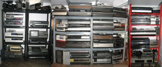 Total Rewind VCR Museum Shed - Andy - Brighton